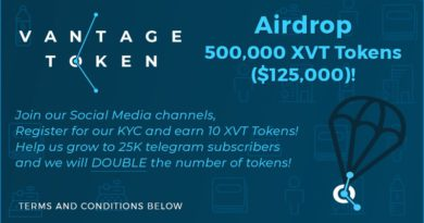 Crypto Gratuite (Air Drop) : VANTAGE